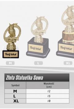 """Statuetka SOWA """"M"""""""