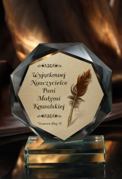 Stautetka Szklana GLORY M