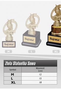 """Statuetka SOWA """"XL"""""""