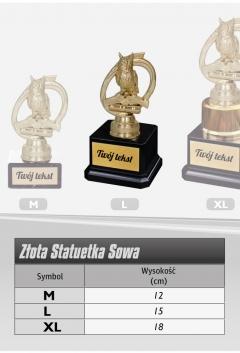 """Statuetka SOWA """"L"""""""