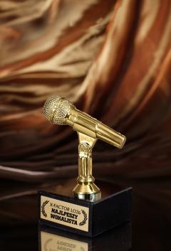 Statuetka Mikrofon S