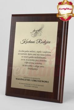 Dyplom  z tekstem 25x20 prezent na DZIEŃ MATKI dla mamy