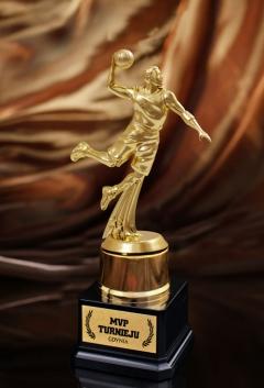 Statuetka Koszykarz MVP XL