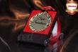 Złoty medal z etui PREZENT na URODZINY 18 20 30 40 50 60 70