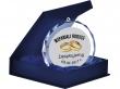 Medal Szklany Crystal 80mm w etui  #ślub