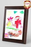 Dyplom z rysunkiem 25x20