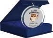 Medal Szklany Glasso 70mm w etui #szkoła